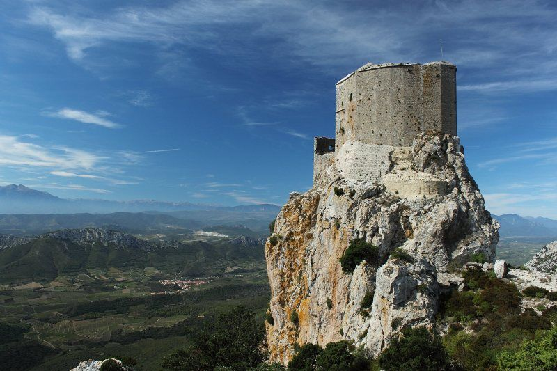 Los castillos cátaros: Homenaje a los Buenos Hombres