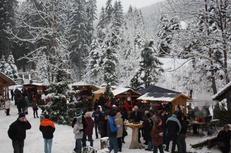 Mercado de Navidad de Gosau