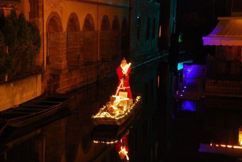 Papa Noel en Colmar