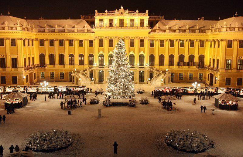 Mercado de Navidad del castillo de Schönbrunn
