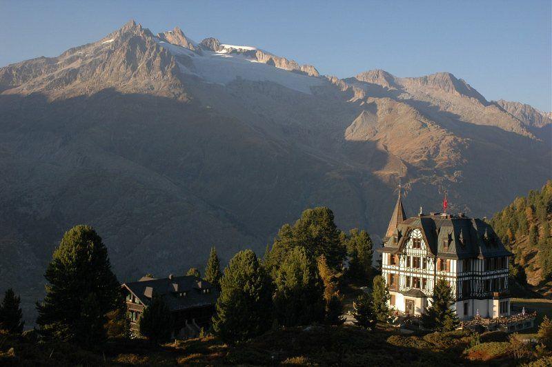 Villa Cassel, bajando hacia Riederalp