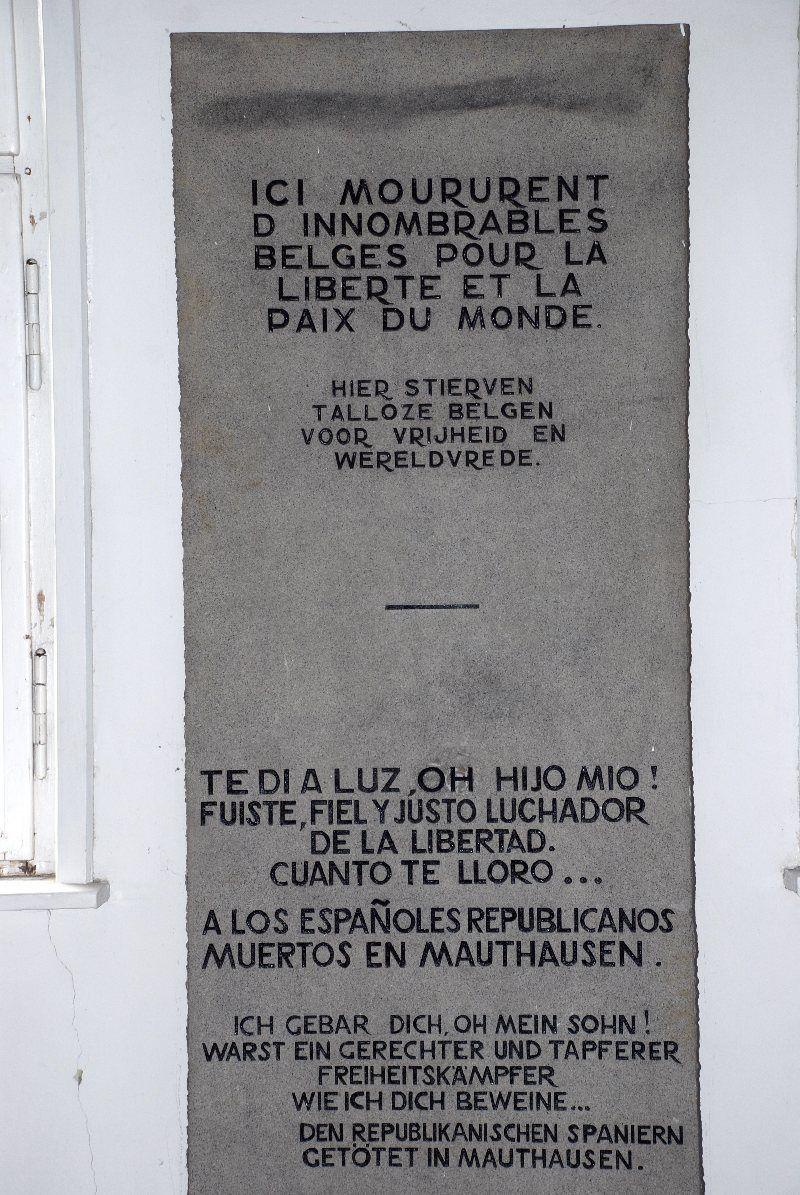 Inscripción conmemorativa