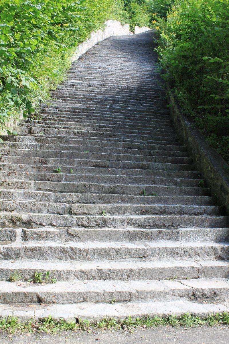 Las escaleras de la muerte
