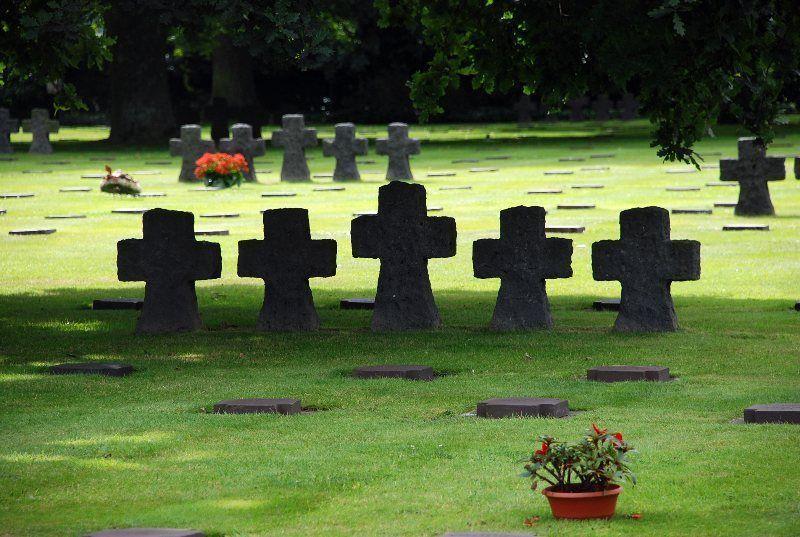 Cementerio alemán de Le Cambe