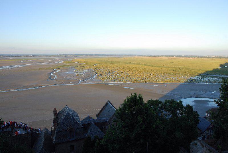 La marea desde la muralla