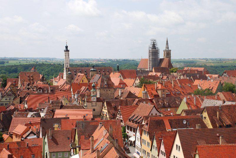 Vistas de Rothenburg