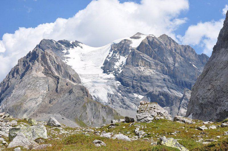 Glaciar des Grands Couloirs