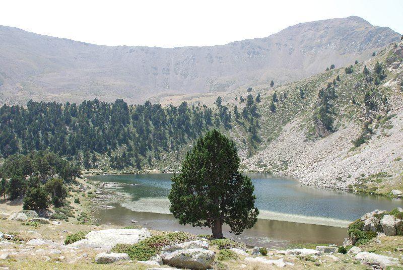 Lago grande de la Pera