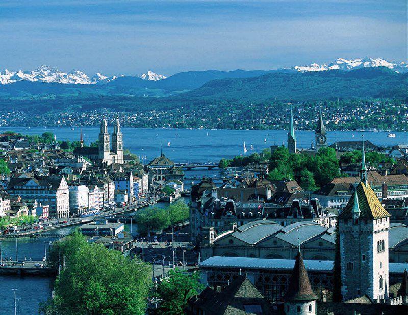 Panorámica de Zürich