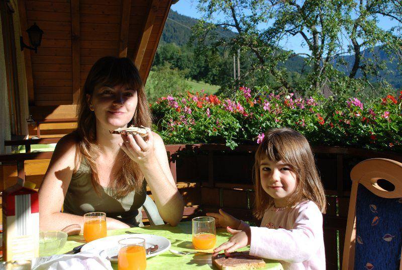Deliciosos desayunos en la terraza