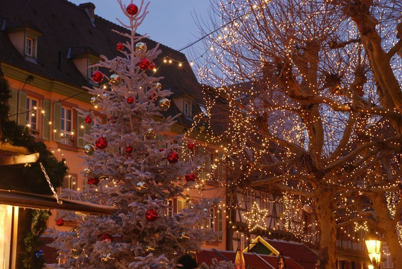 Mercadillo navideño de Colmar (Francia)