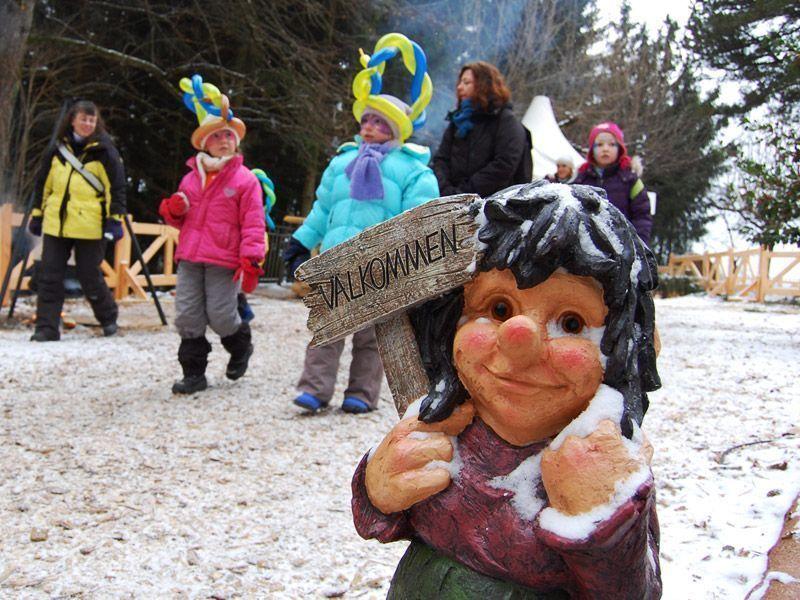 Pueblo de la Navidad en Montreux (Suiza)