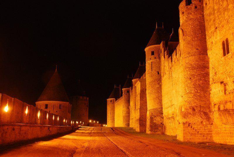 Camino de ronda y murallas de Carcassonne