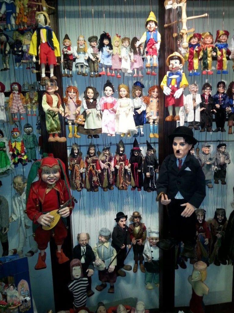 Marionetas de Praga, cortesía de nuestro amigo Manel