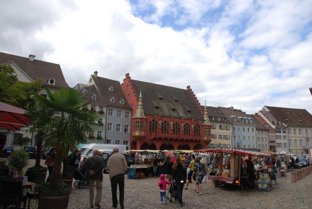 Plaza de la Catedral de Freiburg