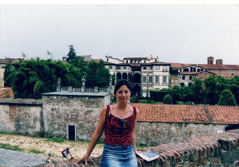 Paseando por las murallas de Lucca