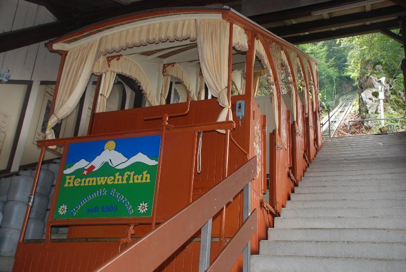 Funicular nostálgico del Heimwehfluh