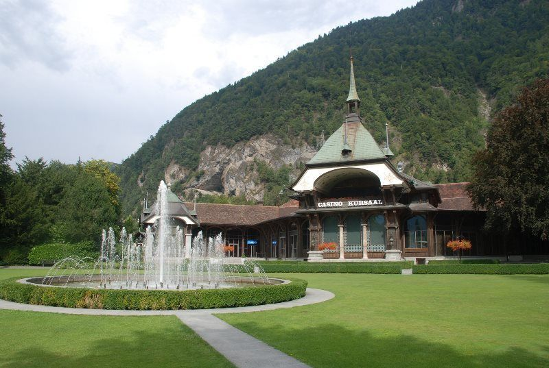 El famoso Casino Kursaal de Interlaken