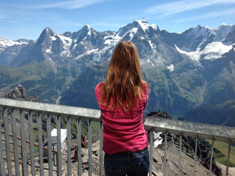 Vistas del Jungfrau, Mönch y Eiger desde Schilthorn