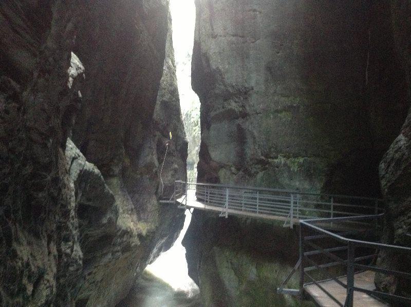 El cañón del Aare