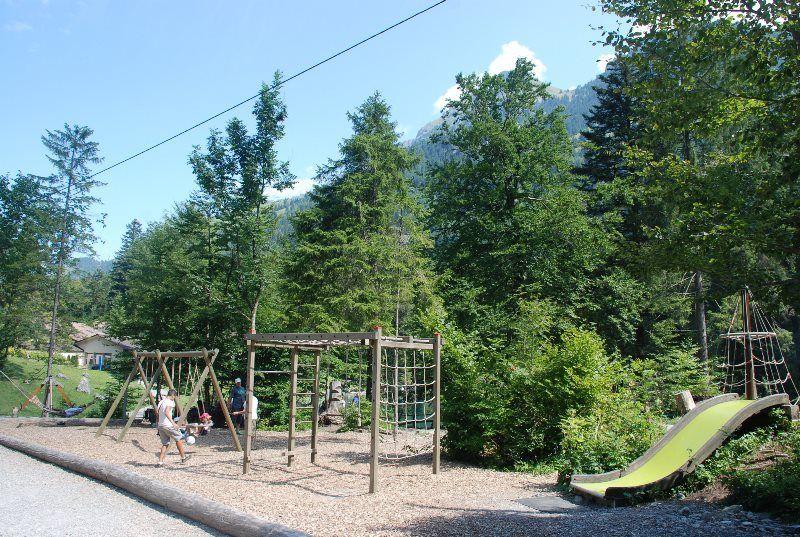 Parque de aventuras en el Blausee