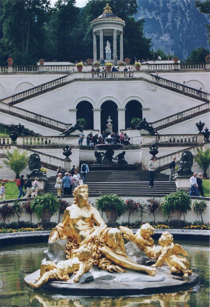 La diosa Fama en loos jardines de Linderhof