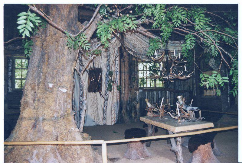La cabaña de caza
