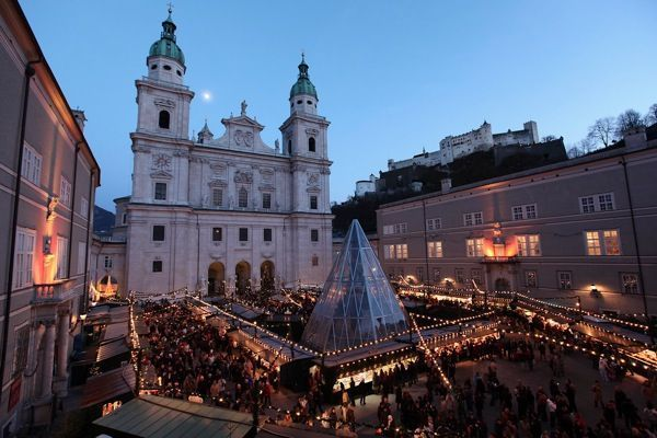 Cómo llegar a Salzburg