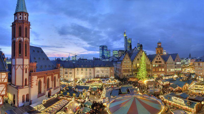Mercado de Navidad de Frankfurt