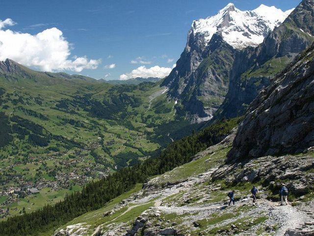El Eiger Trail: En la cara norte del Eiger