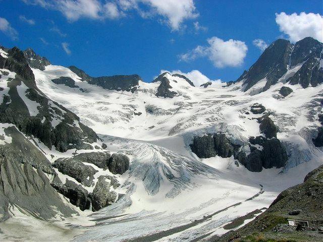 Glaciares de la Pilatte
