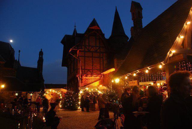 Mercado de Navidad del castillo de Cochem