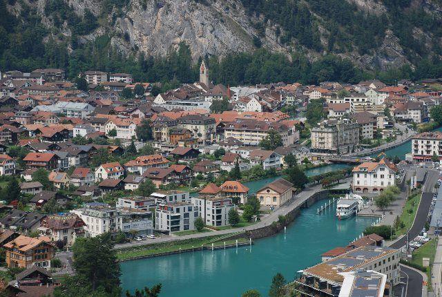 Interlaken desde Heimwehfluh
