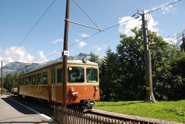 El BLM de Lauterbrunnen-Mürren