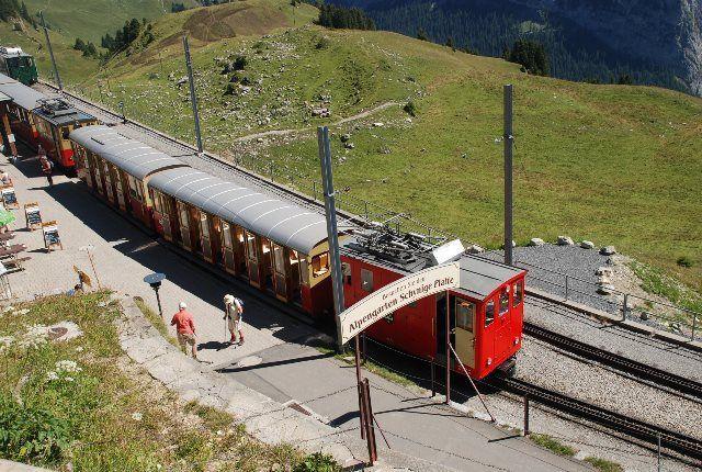 El pequeño tren de Schynige Platte