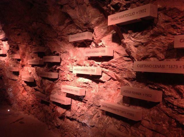 Homenaje a los trabajadores muertos durante la construcción del ferrocarril