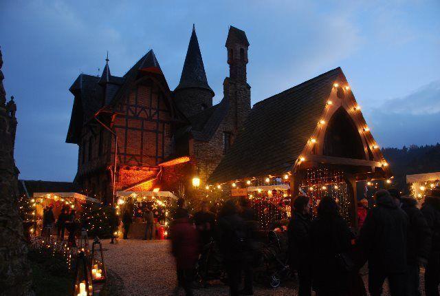 Mercado de Navidad en el Reichsburg