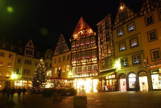 La Marktplatz en Navidad