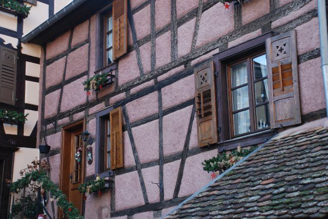 Casas con entramado de madera