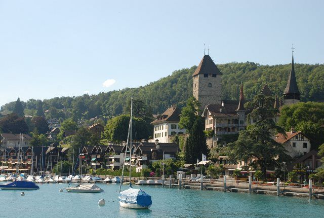 El castillo de Spiez