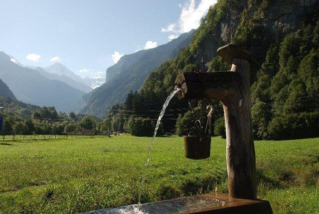 El valle de Lauterbrunnen