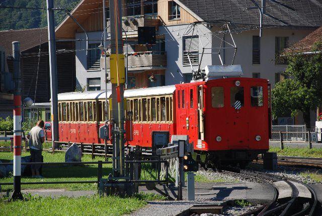 El tren del Schynige Platte