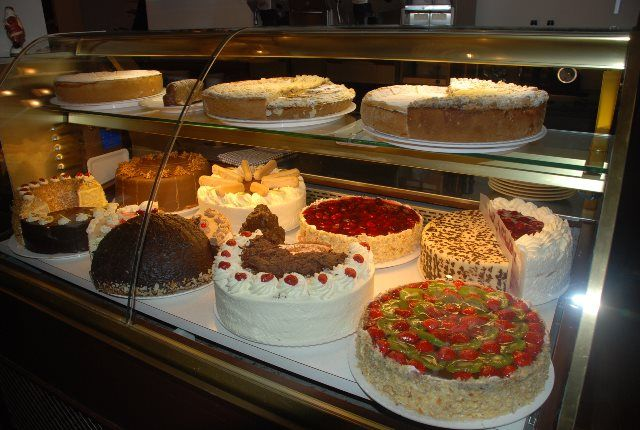 Tartas del Café Knösel