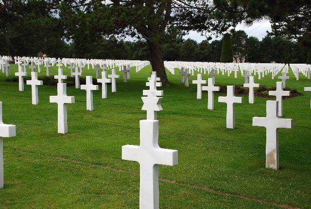 Cementerio americano en Normandía