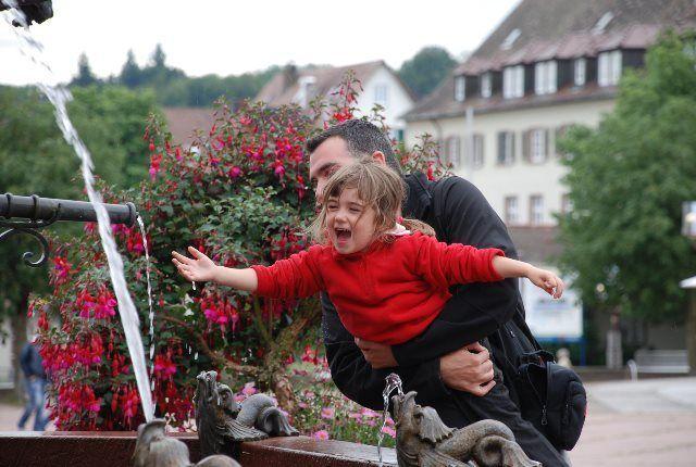 Jugando en Freudenstadt