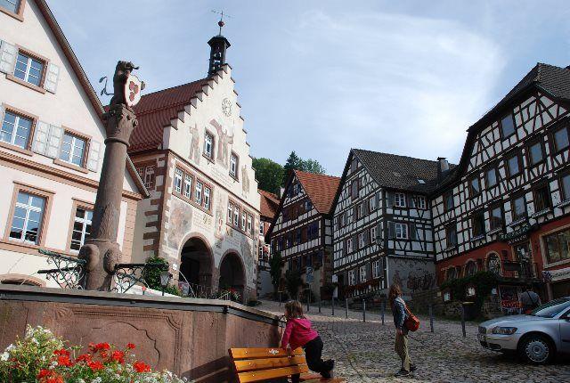 Marktplatz en Schiltach