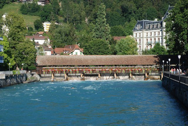 Puente cubierto de Thun