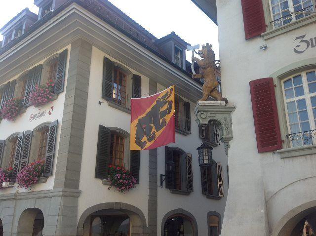 La heráldica del cantón de Berna