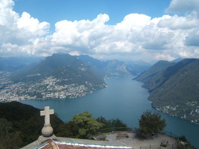Lugano y el Monte San Salvatore
