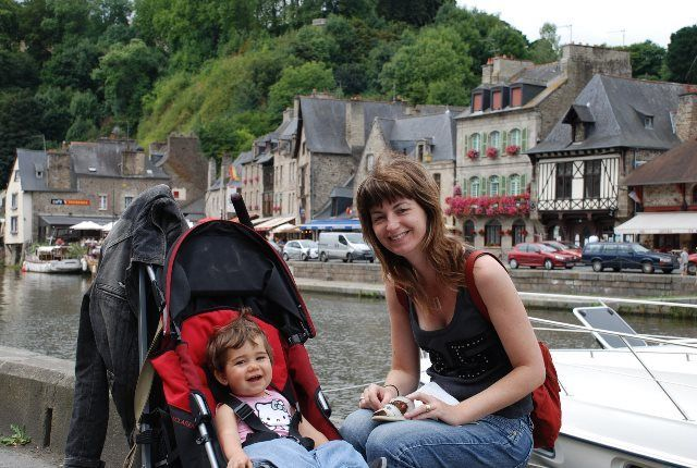 Viajar con niños a la Bretaña